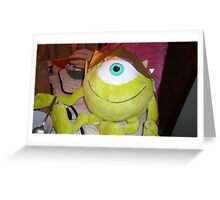 Mike with one Eye! Greeting Card