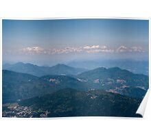 View from monte generoso Poster