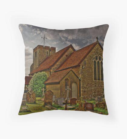 st  Adrews church Throw Pillow