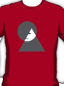 Minimalist sad girl T-Shirt