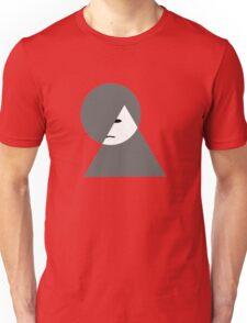 Minimalist sad girl Unisex T-Shirt