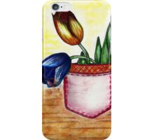 Pocket tulip iPhone Case/Skin