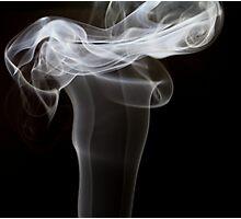 Smoke art abstract Photographic Print