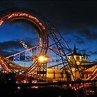 Blackpool Revolution Dusk by Stuart Green
