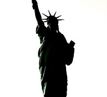 lady liberty  by bron stadheim