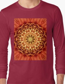 Beautiful flower center. Long Sleeve T-Shirt