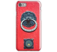 Knock if You Dare iPhone Case/Skin