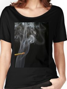 Painting Smoke. Women's Relaxed Fit T-Shirt