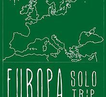 EUROPA SOLO TRIP Green by Raccooning Society