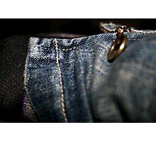 Zip Ankle Photographic Print