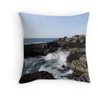 The Edge of the West Throw Pillow