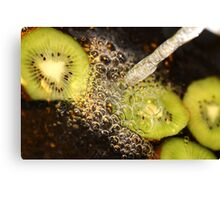 Kiwi fruit. Canvas Print