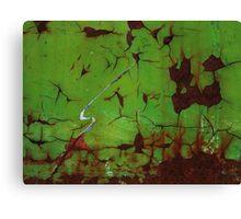 SLASH OF DECAY Canvas Print
