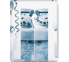the blue telephone III iPad Case/Skin