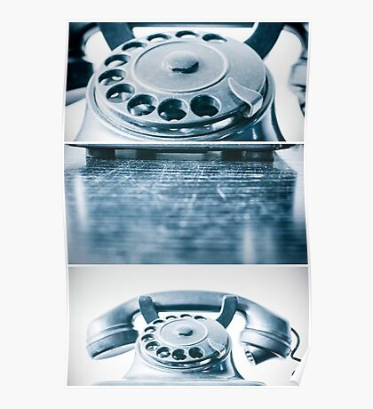 the blue telephone II Poster