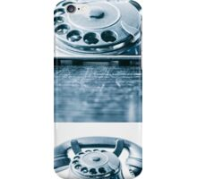 the blue telephone II iPhone Case/Skin