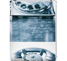 the blue telephone II iPad Case/Skin