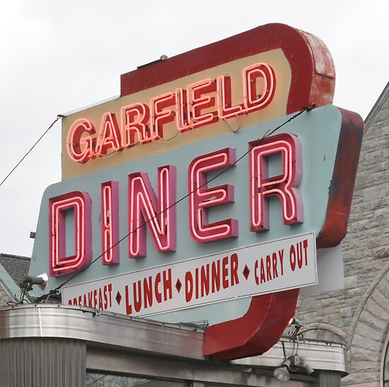 garfield diner PA by nickelb