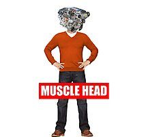 muscle head Photographic Print