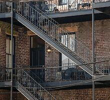 The Fire Escape  by John  Kapusta