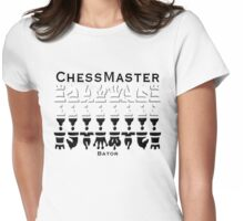 Chess Master Bator Womens Fitted T-Shirt