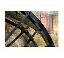 Old Mill Mechanical #2 Art Print