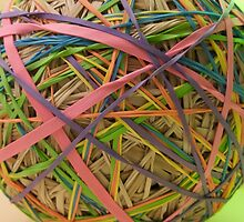 rubberbandball by bron stadheim
