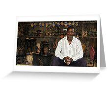 JuJu and the Djinn II Greeting Card