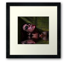 Watery grave Framed Print