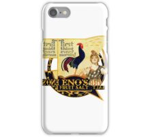New Vintage Calendar Page 10. iPhone Case/Skin