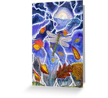 Crystal's Storm Greeting Card