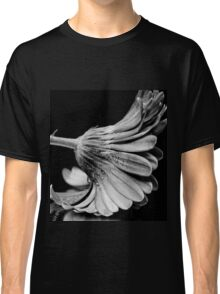 Flower in Black and white. Classic T-Shirt