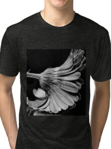 Flower in Black and white. Tri-blend T-Shirt