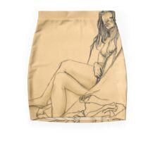 Resting Model Pencil Skirt