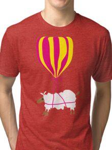 Floating Sheep Tri-blend T-Shirt