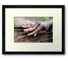 These hands Framed Print
