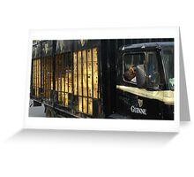 Guinness Time Douala II Greeting Card