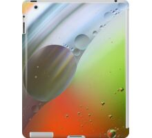 Abstract Oil in water. iPad Case/Skin