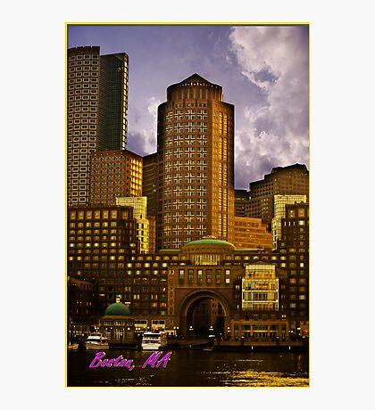 Boston,MA Photographic Print