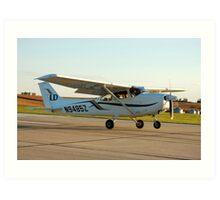 Cessna 172 Skyhawk Art Print