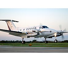 Beechcraft King Air Photographic Print