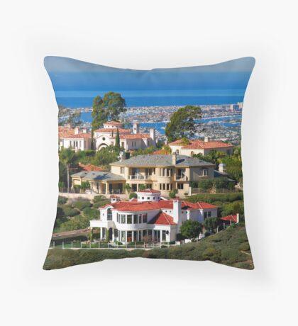 Atop Newport Throw Pillow