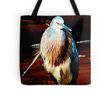 Stalk bird  Tote Bag