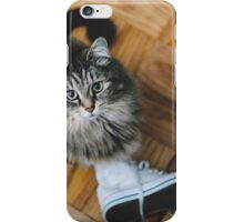 seattle cat. iPhone Case/Skin