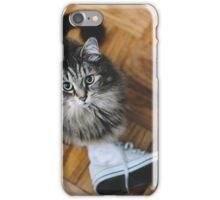 seattle cat. iPhone Case/Skin
