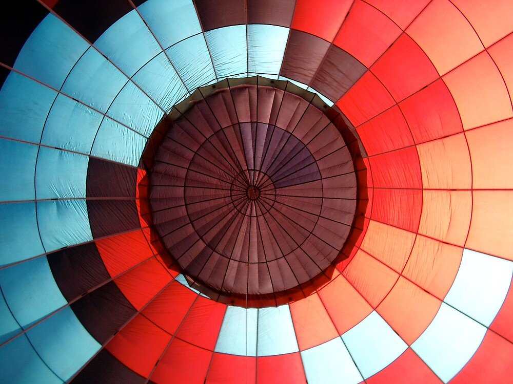 Hot Air Balloon Inside 1 by greg1701