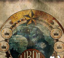 Murder of Crows Vigor Poster Sticker