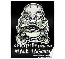 Lagoon Creature Poster