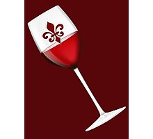 Raise your glass ~ Red Wine! Photographic Print