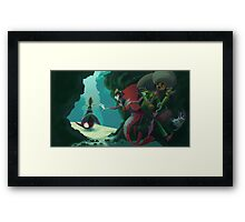 Farewell Father Framed Print